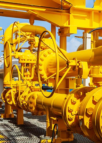 Refining equipment, pipes and valves